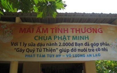 Tổng kết chuyến đi từ thiện Chùa Phật Minh Bến Tre ngày 27/11/2011