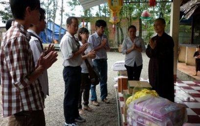 Thông tin về chuyến đi từ thiện chùa Từ Ân