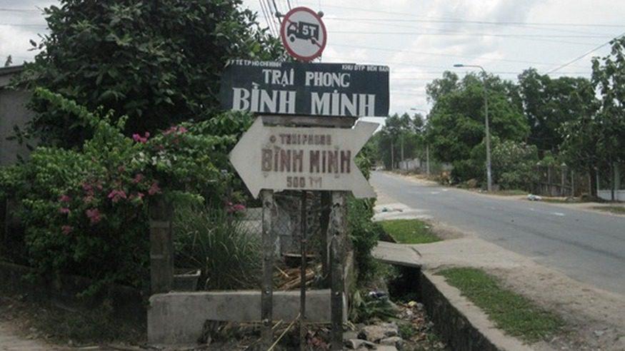 Từ thiện trại phong Bình Minh, Long Thành, Đồng Nai 19/05/2013