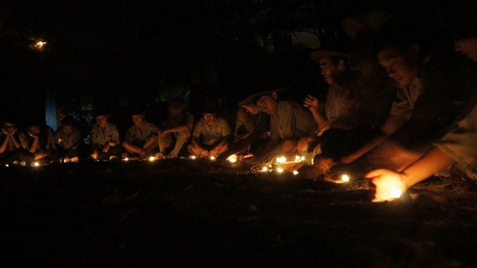 Câu chuyện lửa tàn trại Trúc Lâm 6 GĐPT Quảng Đức Sài Gòn